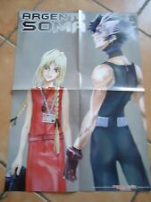 POSTER AFFICHE MANGA ARGENTO SOMA  / D 'ESPAIRS RAY 42 * 58 cm recto verso
