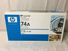 GENUINE HP 74A 92274A Black Toner Cartridge Brand New Sealed 4L 4ML 4P 4MP