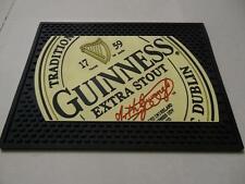 Guinness Extra Stout Signature Logo Bar Mat Beer Spill Mat Coaster New