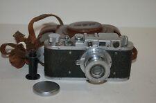 FED 1 Type D NKVD Vintage 1940 Soviet Rangefinder Camera, Case. 139210. UK Sale