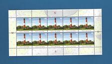 BRD / BUND Nr. 3090 , Leuchtturm Pellworm , kompletter Zehnerbogen ** !!