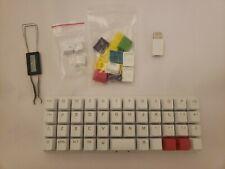 ZSA Planck EZ Glow Mechanical Keyboard USB C w/ Swappable Keys WORKS