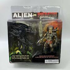 "ALIEN vs predator avp PVC Action Figure 9"" e 7"" 2 pacco Big Chap doll"