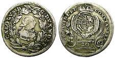 ESTADOS ALEMANES. WÜRTTEMBERG. KARL EUGEN.1762. 20 KREUTZER