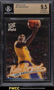 1996 Ultra Basketball Kobe Bryant ROOKIE RC #52 BGS 9.5 GEM MINT