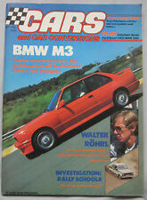 Cars & Car Conversions 09/1986 featuring BMW M3, TVR 420 SEAC, Caterham
