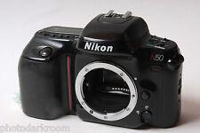 Nikon N50 35mm Pellicola SLR Camera Corpo-non testato parti-X14