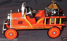 1924 Toledo Fire Engine #6 Hallmark Kiddie Car Ornament - Artist Signed - h126