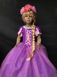 Costume Carnevale Sartoria Bambina Principessa Rapunzel-varie taglie