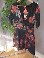 BNWT Joe Brown's Size 14 Black Floral Dress