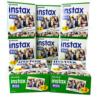 160 PCS Fujifilm INSTAX WIDE Instant film for camera 100/200/210/300 BOX