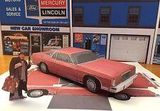 Papercraft 1975-1978 Uncle Buck movie car Mercury Marquis Paper Model EZU-make