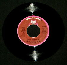 """GLADYS KNIGHT THE PIPS """"PART TIME LOVE/Where Do I Put"""" BUDDAH 513 (1975) 45rpm"""