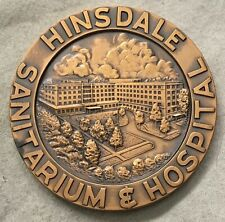 MACO. Hinsdale Sanitarium & Hospital, Hinsdale, Illinois Commemorative Medal