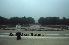 EKTACHROME 35mm Slide France Gardens Of Versailles Pretty Woman People 1978!!!