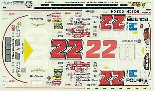 Slixx 1496 1/24th & 1/25th Scale #22 CAT Decals