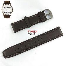 Timex Ersatzarmband T46191 Expedition Metal Field - Leder universal passend 20mm