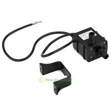 Mini DC 12V 5W Micro Ultra-quiet Brushless Water Pump Oil Car Submersible 0~75℃