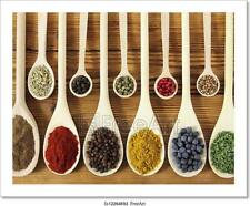 Spices Art/Canvas Print. Poster, Wall Art, Home Decor