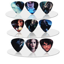 10pcs 1.0mm Two Sides Musical Accessories Film signiture Guitar picks