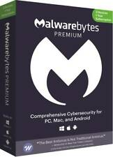 Malwarebytes - 4.0 Premium (3-Devices) - Android, Mac, Windows
