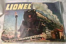 VINTAGE 1947 LIONEL TRAIN RAILROAD CATALOG ~ TRAINS, TRACK, TRANSFORMERS, ETC