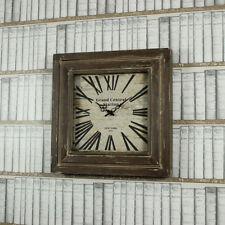 Orologi da parete quadrato marrone