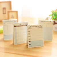 Random Form Schedule Memo Pad Bookmark Post-IT Sticker Marker Flags Sticky Notes