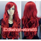 Women's Long Curly Fancy Dress Wigs Cosplay Costume Ladies Wig Party