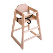 Bolero Wooden Highchair Natural Finish BARGAIN
