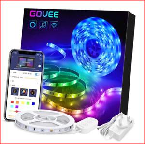 Govee Alexa LED Strip Lights 10M, Smart Phone App Controlled Lighting Kit Works