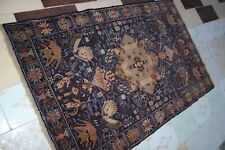 3867.Afghan Tribal Hand Knotted Woollen Tribal Pictorial  rug .Size.199 x 121 CM
