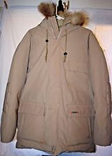Schott Goose Down Hooded Jacket size XL