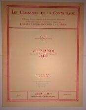 Les Classiques de la Contrebasse - No. 1. Allemande extraite de la 1ère Suite...