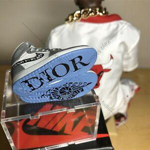 1/6 mini 3D sneakers Nike Air Jordan 1 Dior New Edition 2.0