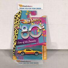 #1 '80 Pontiac Firebird Yellow * Cars Of The Decades * Hot Wheels * Y36