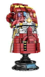 SY 1400 Avengers Thanos Infinity Gauntlet Building Bricks 629 Pieces