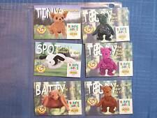 BEANIE BABY CARDS S2 SERIES 21998 GOLD WORLD SERIES POKEMON TINY TEDDY SPOT BATT