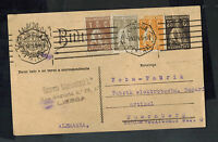 1924 Lisbon Portugal Postcard cover to Nuremburg Germany