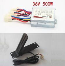 Motor Brushed Controller 36V 500W Speed Box&Foot Throttle For E-Bike Scooter
