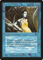 Creature Bond - BETA Edition - Old School - MTG Magic