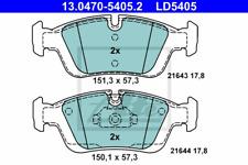 Bremsbelagsatz Scheibenbremse ATE Ceramic - ATE 13.0470-5405.2