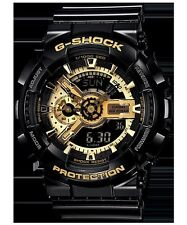 Casio G-Shock GA110GB-1A Black Gold Analog Wrist Watch for Men
