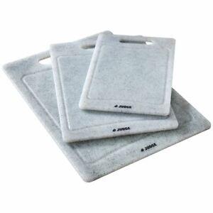 Judge Granite Effect Polypropylene Chopping Cutting Board Small Medium Large