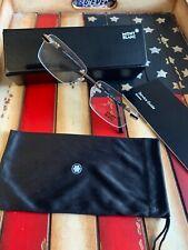 Mont Blanc Rimless Eyeglasses MB0679/V 028 Gold 56MM Men's FrameOption To Add RX
