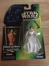 CARRIE FISHER Star Wars Kenner 1997 Princess Leia Organa With Laser Pistol MOC