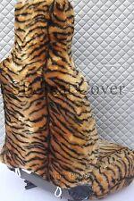 I-pour s'adapter à une lexus IS200 voiture, avant s/couvre, or tigre en fourrure synthétique