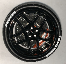 1/18 AB Models ADV Wheels for Ferrari  Liberty walk in Gloss Black  AB1018