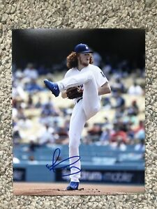 Dustin May Signed Autographed Auto 8x10 Photo Los Angeles Dodgers