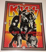 Kiss: 2003 japan tour book/program complete mint condition